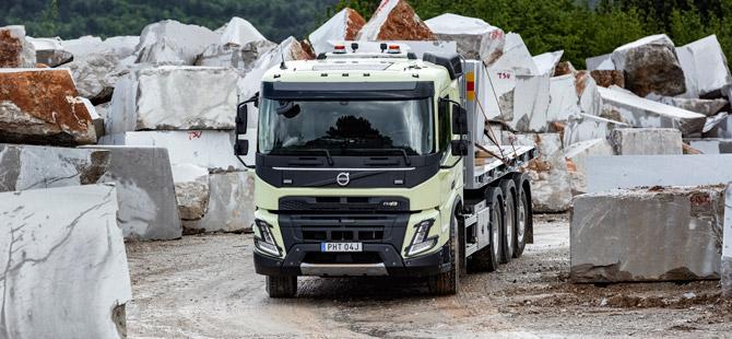 Volvo FMX En Zorlu Görevlere Hazır