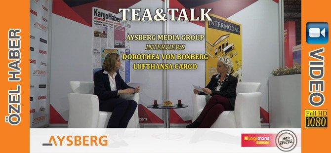 Tea & Talk 2019; Lufthansa Cargo Yönetim Kurulu Üyesi Dorothea Von Boxberg
